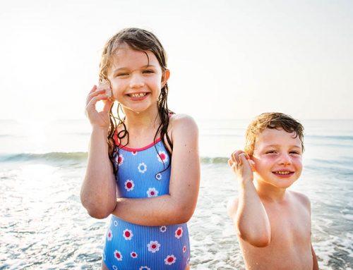 Cómo cuidar la piel de tus niños en verano